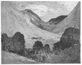 Landschaft in Savoyen (?)