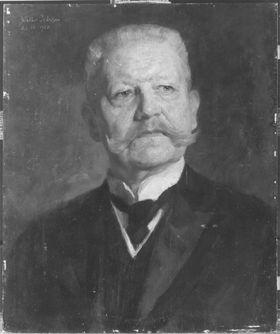 Reichspräsident Paul von Hindenburg