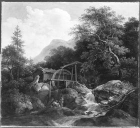 Wetzsteinmühle bei Ohlstadt