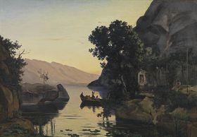 Landschaft bei Riva am Gardasee