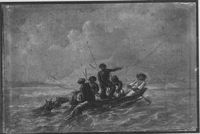 Soldaten im Boot