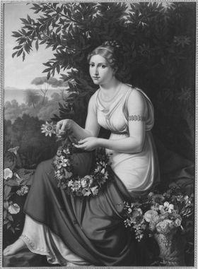 Die Blumenwinderin