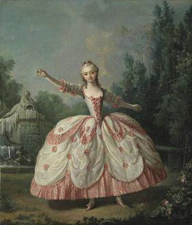 Die Tänzerin Marianne Cochois