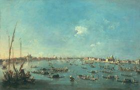 Regatta auf dem Canale della Giudecca