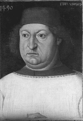 Bildnis Friedrich Graf von Hohenzollern, Bischof von Augsburg