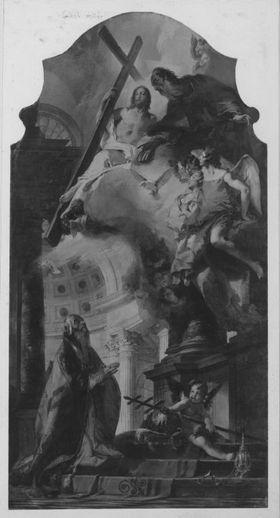 Die Verehrung der Trinität durch den hl. Papst Clemens