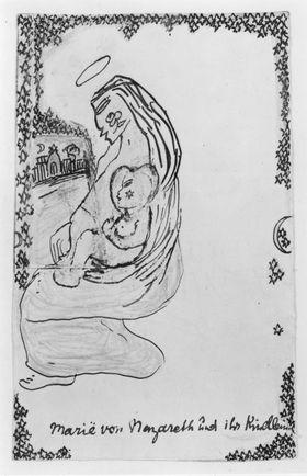 Maria von Nazareth und ihr Kindlein