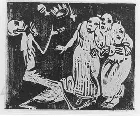 Tod als Jongleur (Revolution)