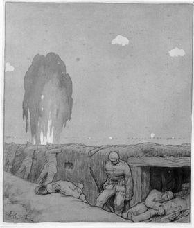 Im Schützengraben