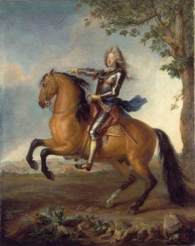 Reiterbildnis des Kurfürsten Max Emanuel von Bayern