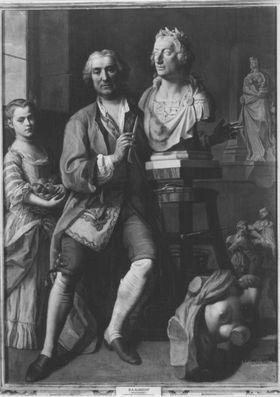 Bildnis des Bildhauers Johann Straub