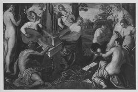 Apollo und die Musen