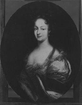 Bildnis der Eleonore Juliane von Brandenburg-Ansbach
