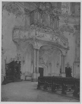 Kirche in Ettal
