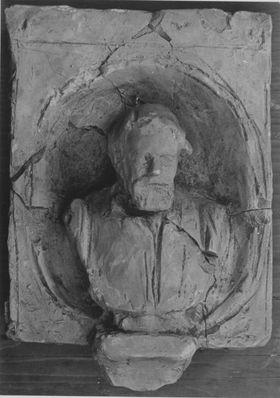 Modell für die Büste am Denkmal des Geigers Joseph Joachim in Berlin