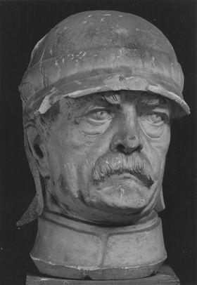 Otto von Bismarck (Modell für das Reiterstandbild in Bremen)