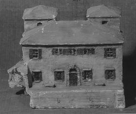 Modell einer Villa (?)