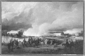 Die Einnahme von Ulm (nach Wilhelm von Kobell)