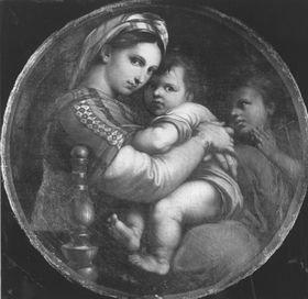 Madonna della Sedia (nach Raffael)