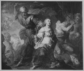 Martyrium des hl. Dymphna und des hl. Gerbert