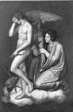 Das Märchen von Amor und Psyche: Amor und Temperantia