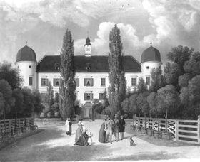 Vor dem Schloss (Wolfpassing?)