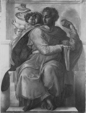 Der Prophet Jesaias (nach Michelangelo)