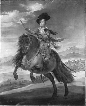 Der Infant Balthasar Carlos zu Pferd (nach Velázquez)
