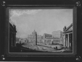 Sankt Peter und der Petersplatz in Rom
