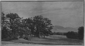 Landschaft mit Benediktenwand