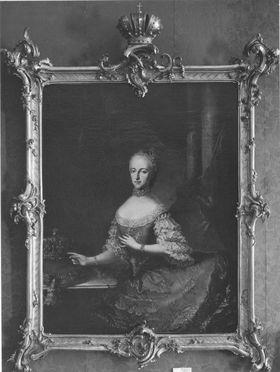 Bildnis der Maria Josepha von Bayern, Gemahlin des Kaisers Joseph II. (1739-1767)