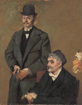 Henri Rouart und sein Sohn Alexis
