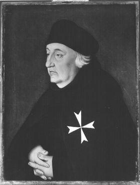 Bildnis des Straßburger Johanniters Gregorius Beit