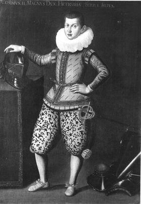 Großherzog Cosimus II. als Knabe
