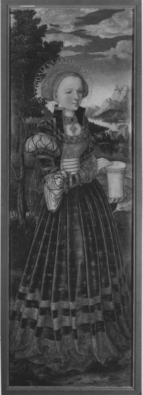 Magdalenenaltar: Hl. Maria Magdalena