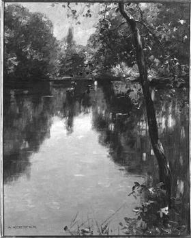 Teich bei Viktring
