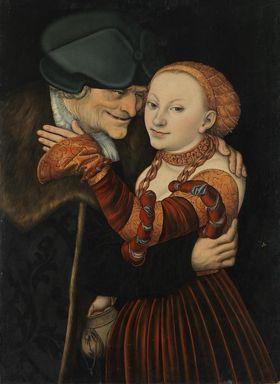 Ungleiches Paar (Der alte Buhler)
