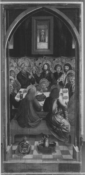 Fronleichnamsaltar: Das Letzte Abendmahl