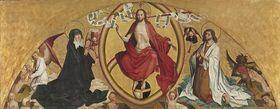 Jüngstes Gericht mit Maria und Johannes d. T.