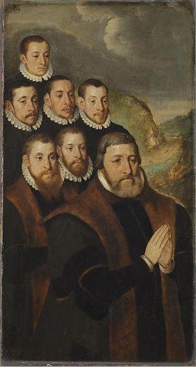 Antoine Humbelot mit seinen Söhnen