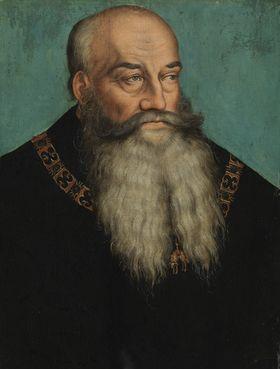 Bildnis Herzog Georgs des Bärtigen von Sachsen