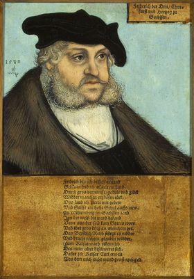 Bildnis Kurfürst Friedrichs III. des Weisen von Sachsen