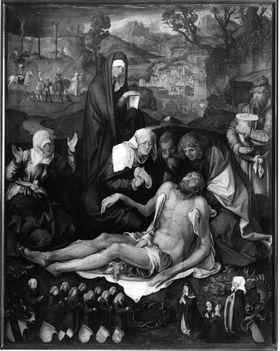 """Beweinung Christi (""""Holzschuhersche Beweinung"""")"""