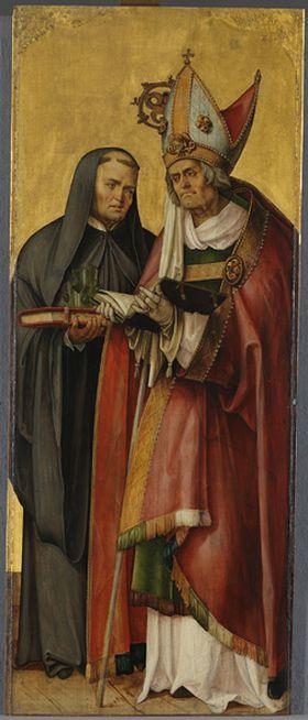 Annenaltar: Die hll. Willibald und Benedikt
