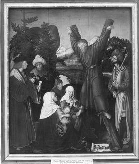 Marter des Apostels Andreas