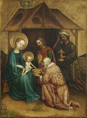 Heisterbacher Altar: Anbetung der Könige