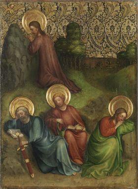 Heisterbacher Altar: Christus am Ölberg