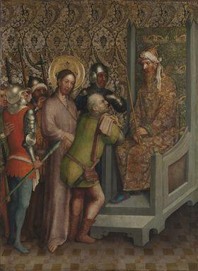 Heisterbacher Altar: Vorführung Christi