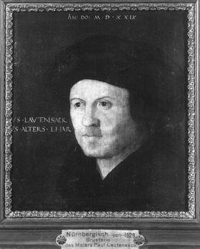 Bildnis des Malers Paul Lautensack