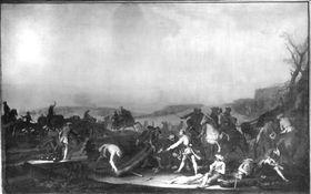 Belagerung einer Stadt (Augsburg 1703)